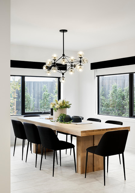 display home furniture fitout \u0026 styling modern dining room