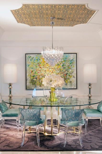 DKOR Interiors Interior Design In Sunny Isles FL Hollywood Regency Eclec