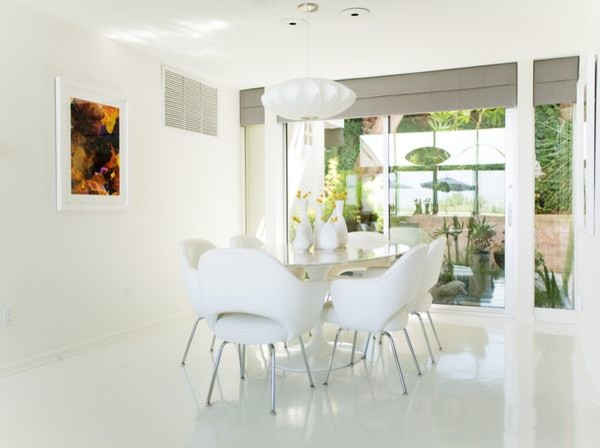 White Linoleum Flooring Source Domestic Seamless Poured Resin London The