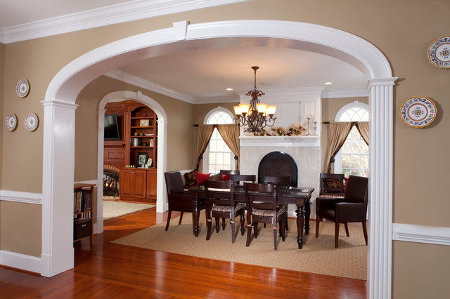Doorways And Arches Traditional Dining Room