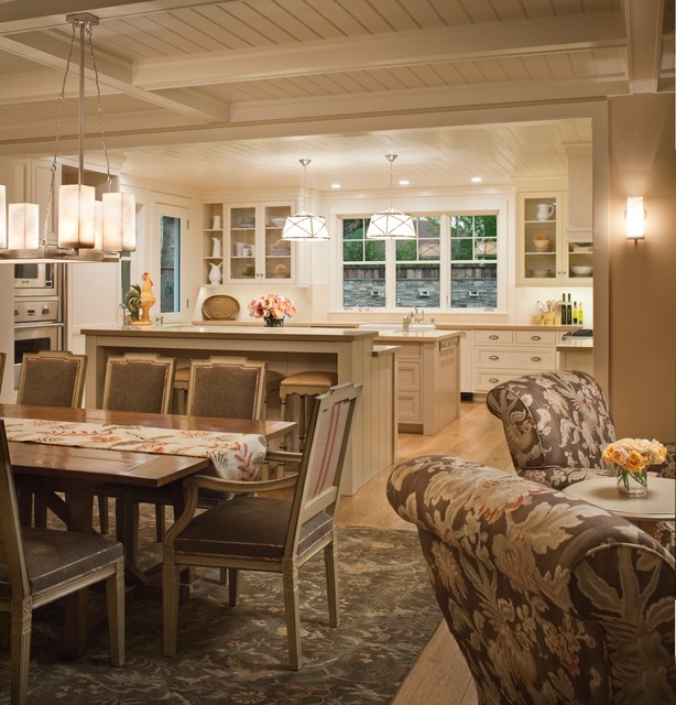 Downtown Farmhouse - Farmhouse - Kitchen - San Francisco - by Andrea Bartholick Pace Interior Design