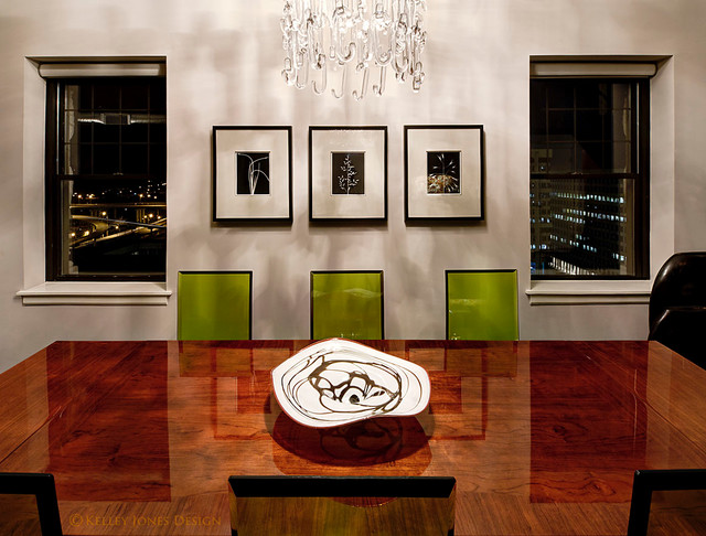 Downtown memphis condo modern dining room other by for Jones design company dining room