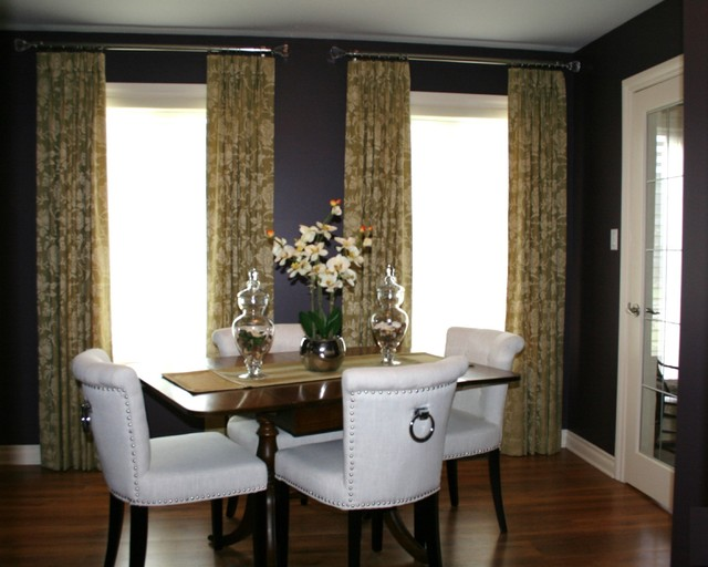 Dramatic Dining Room traditional-dining-room