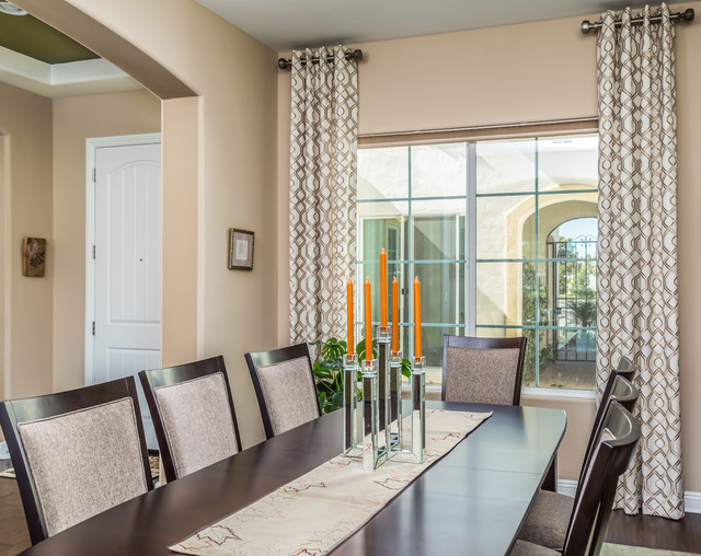 draperies transitional dining room phoenix by az draperies contemporary dining room toronto by