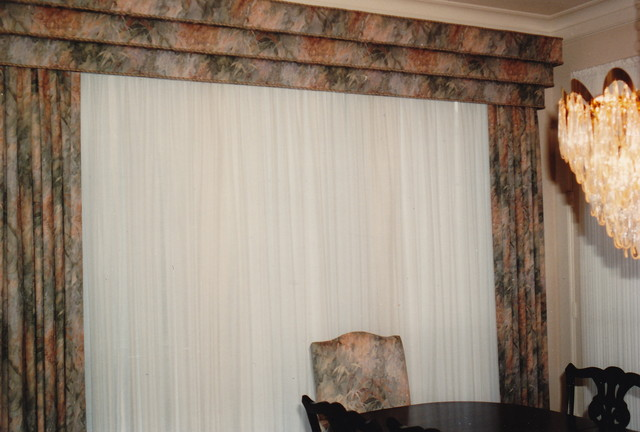 Draperies contemporary-dining-room