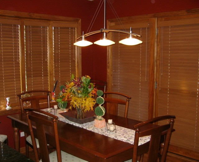 Draperies dining-room