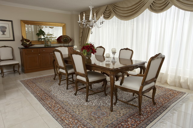 drapery curtains window coverings dining room toronto by