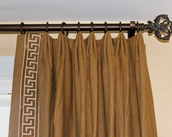 Greek Key Trim On Drapes Home Design Ideas Pictures Remodel And Decor