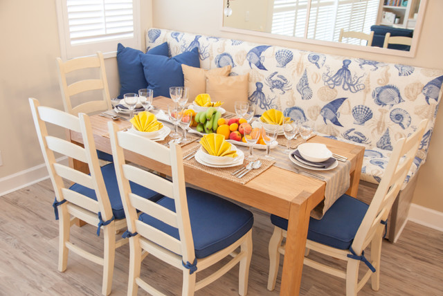 dream beach house beach style dining room miami by nuance by natalie. Black Bedroom Furniture Sets. Home Design Ideas