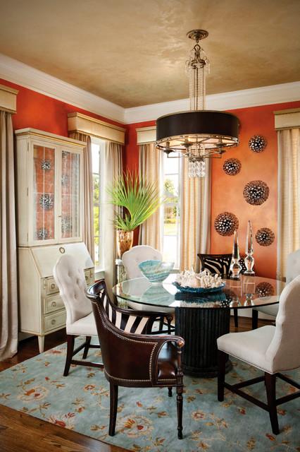 dream home 2011 transitional dining room charlotte by verandah interiors. Black Bedroom Furniture Sets. Home Design Ideas