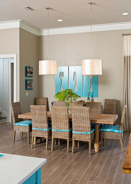 Dream Home At The Beach Beach Style Dining Room Other Metro By