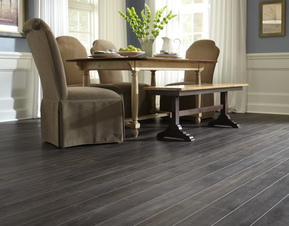 St James 12mm Pad Meades Ranch, Weathered Wood Laminate Flooring