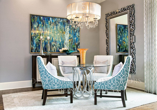 Dream room 2014 transitional dining room dallas by for Houzz corporate office