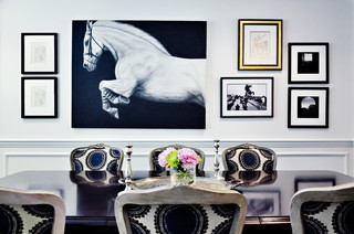 Drew McGukin Interiors - Boston Dining Room contemporary-dining-room