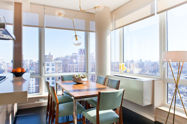Drew McGukin Interiors - Chelsea Apartment contemporary-dining-room