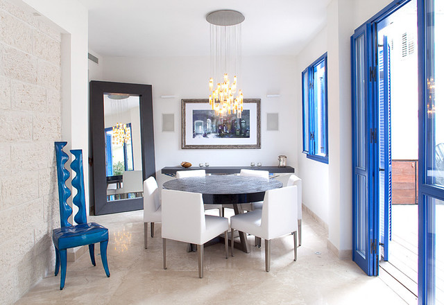 Drops contemporary-dining-room