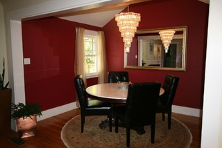 Duggan residence traditional dining room