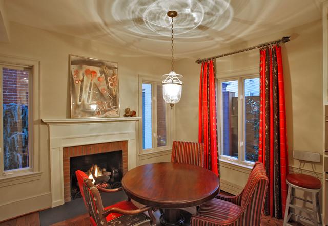 Duke Street, Alexandria eclectic-dining-room