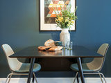 contemporary dining room Room of the Day: A Piece of Manhattan Inspires a Brooklyn Apartment (4 photos)