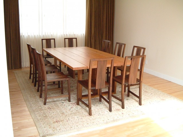 Dunbar dining table and chairs for Modern dining chairs vancouver