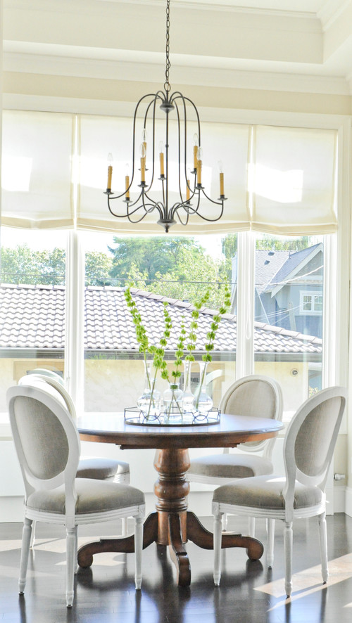 Traditional Dining Room by Vancouver Architects & Building Designers Kerrisdale Design Inc