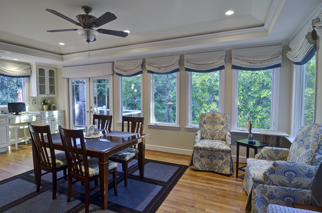 dunwoody kitchen deck sunroom traditional dining room atlanta