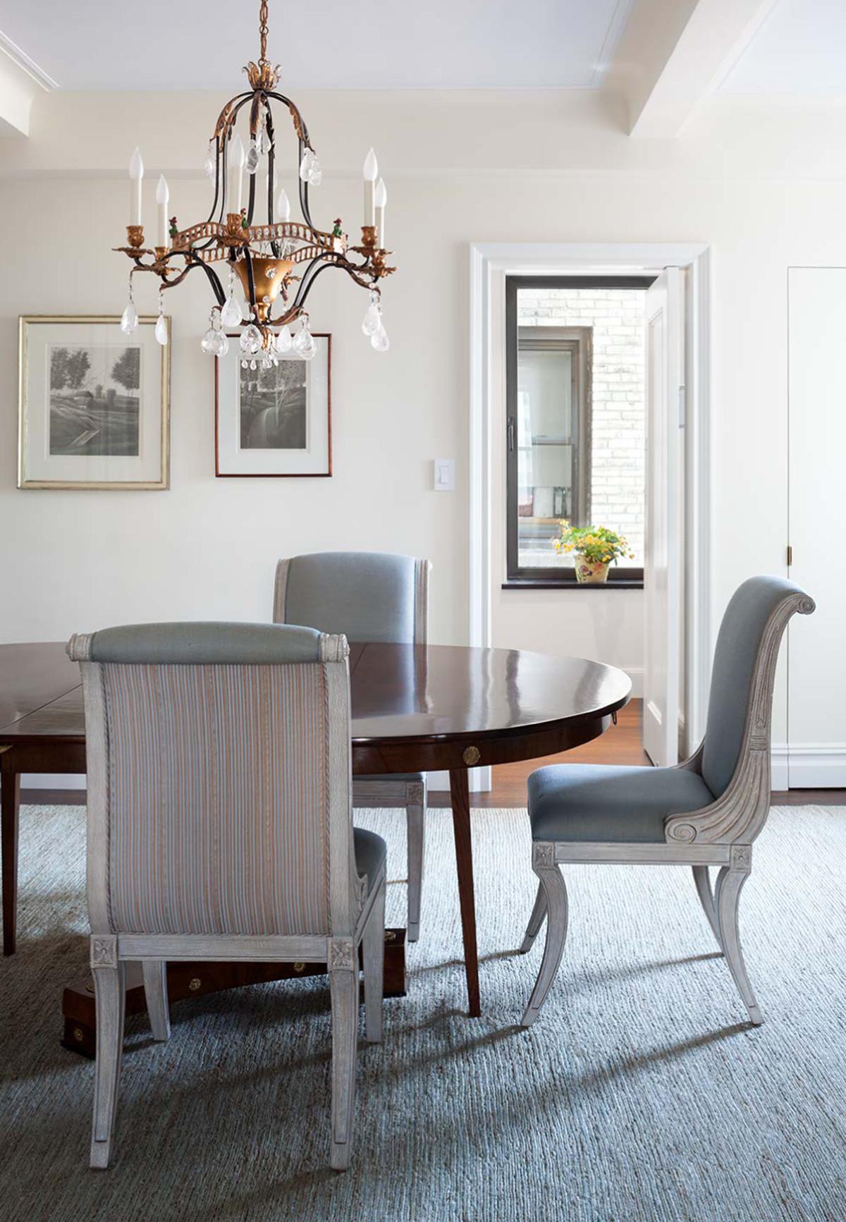 Duplex Apartment Dining Room