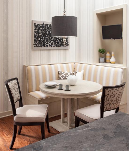 Transitional Dining Room: DuPont Circle