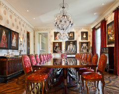 E.B. Mahoney builders traditional dining room