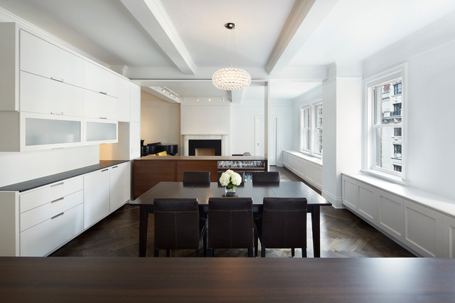 e90th st nyc prewar apartment renovation modern