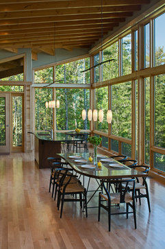 FINNE Architects modern dining room