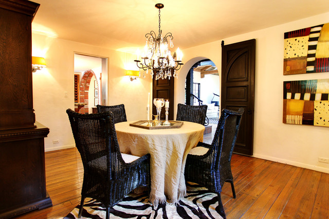 Earlmont House mediterranean-dining-room