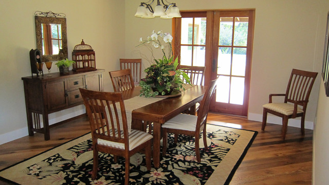 Early California Ranch Re-do traditional-dining-room