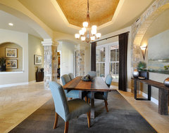 Earthy and Elegant Dining Room traditional-dining-room
