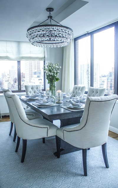 East 72nd transitional-dining-room
