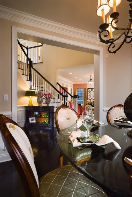 East Coast Transitional traditional-dining-room