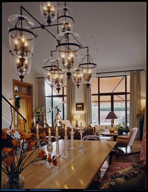 Village interior design llc interior designers decorators - East Hampton Warehouse Conversion Traditional Dining
