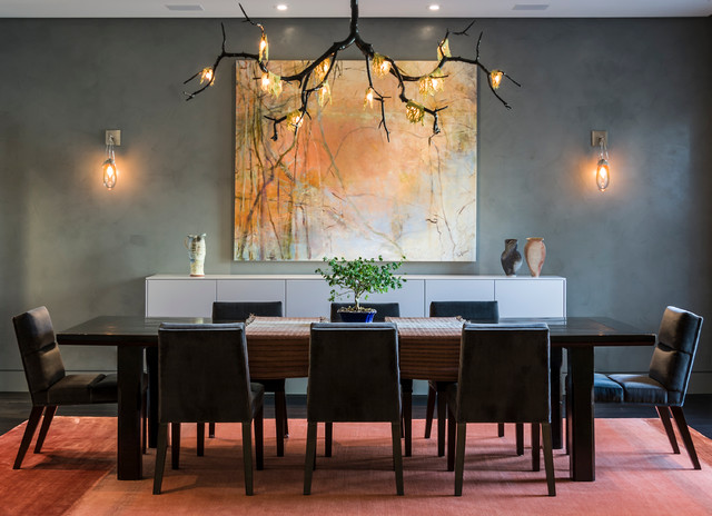 East Lakeview Residence contemporary-dining-room