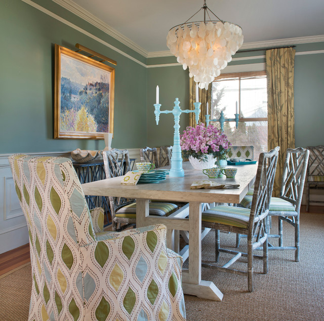 East Side Home Eclectic Dining Room