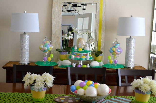 Easter Decor - Traditional - Dining Room - St Louis