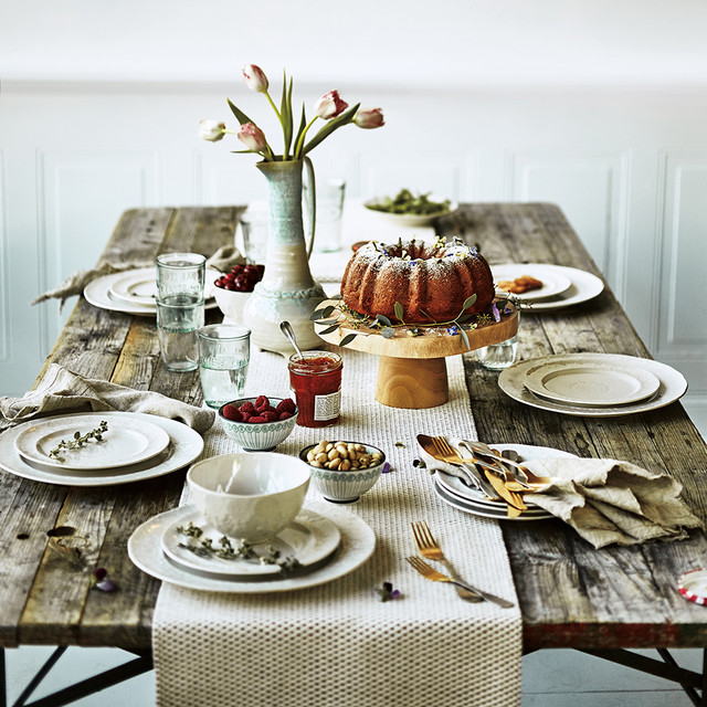 Anthropologie Dining Room: Easter Table Setting