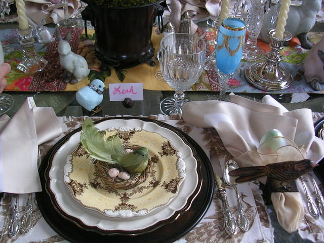 Easter Table eclectic-dining-room