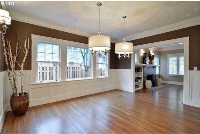 Eastmoreland bungalow remodel traditional dining room for Dining room renovation ideas
