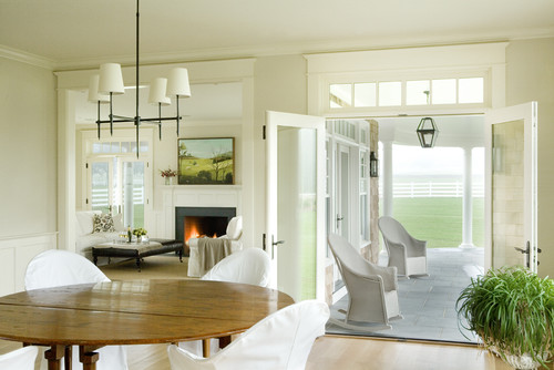 Architect Garret Cord Werner Contemporary Dining Room Design By Providence Build Aquidneck Properties