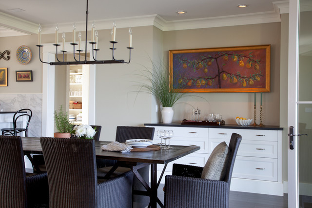 Eat In Kitchen Eclectic Dining Room