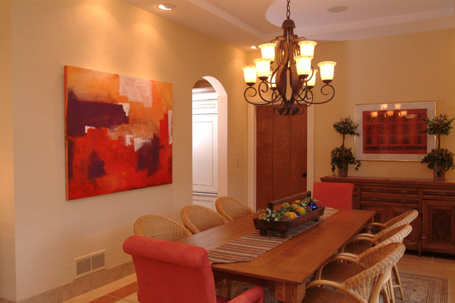 Eclectic  Atmospheres traditional-dining-room