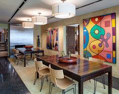 Blackhawk contemporary-dining-room