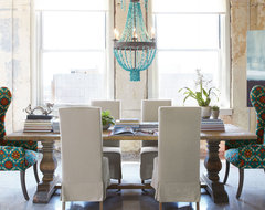 Fall 2012 eclectic dining room