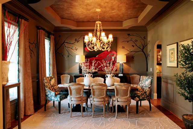 Eclectic Interiors traditional-dining-room