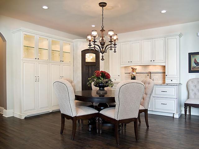 Edina Country Club Custom Designed Home modern-dining-room